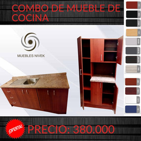 Mueble Para Fregadero - Muebles y Bibliotecas en Mercado Libre Costa ...