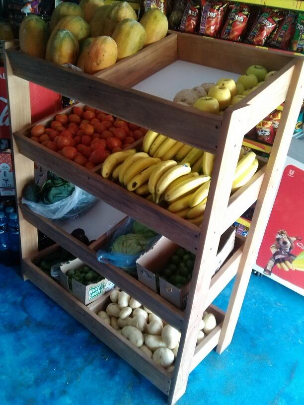 mueble para frutas y verdura 1 en mercado libre