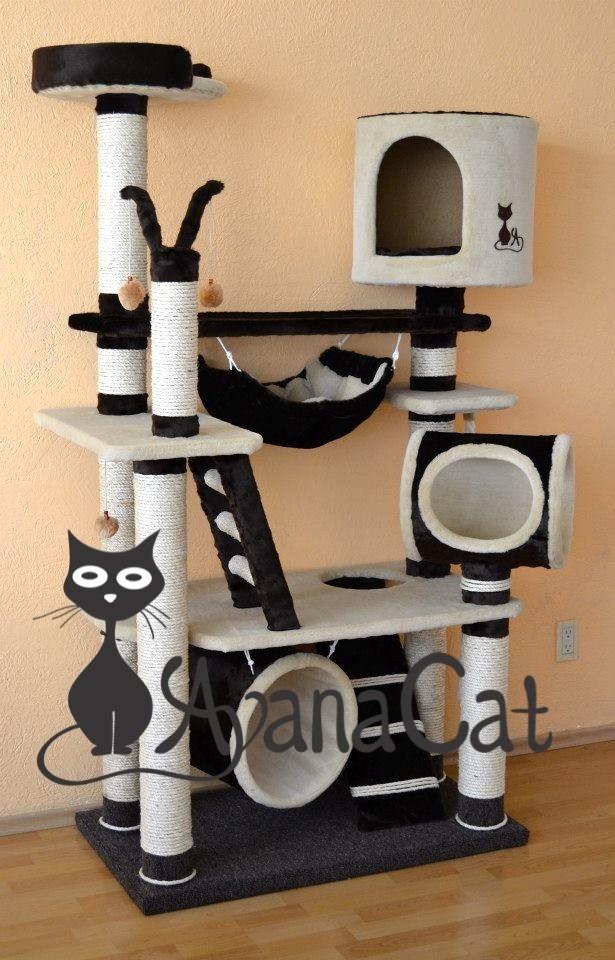 Mueble para gatos de avana cat 5 en mercado libre - Mueble arenero para gatos ...