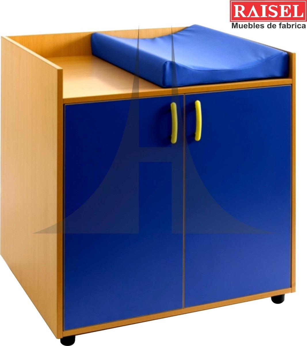 Mueble Para Guarderia, Kinder, Mobiliario Bebe, Cambiador ...