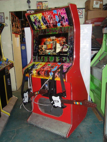 mueble para guitar 23 video juegos maquinitas de videojuegos
