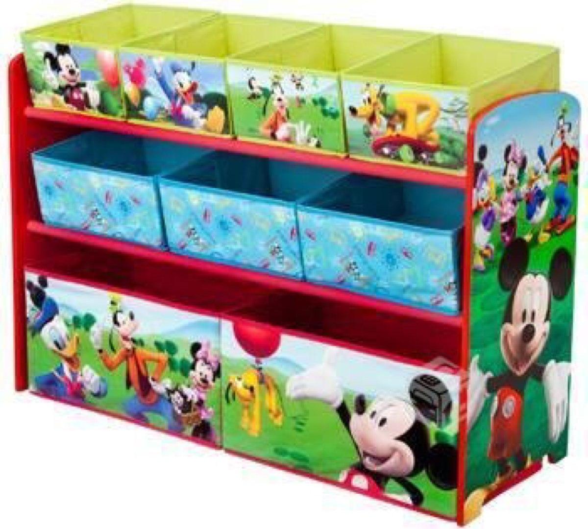Mueble para juguetes mickey en mercado libre - Mueble organizador de juguetes ...