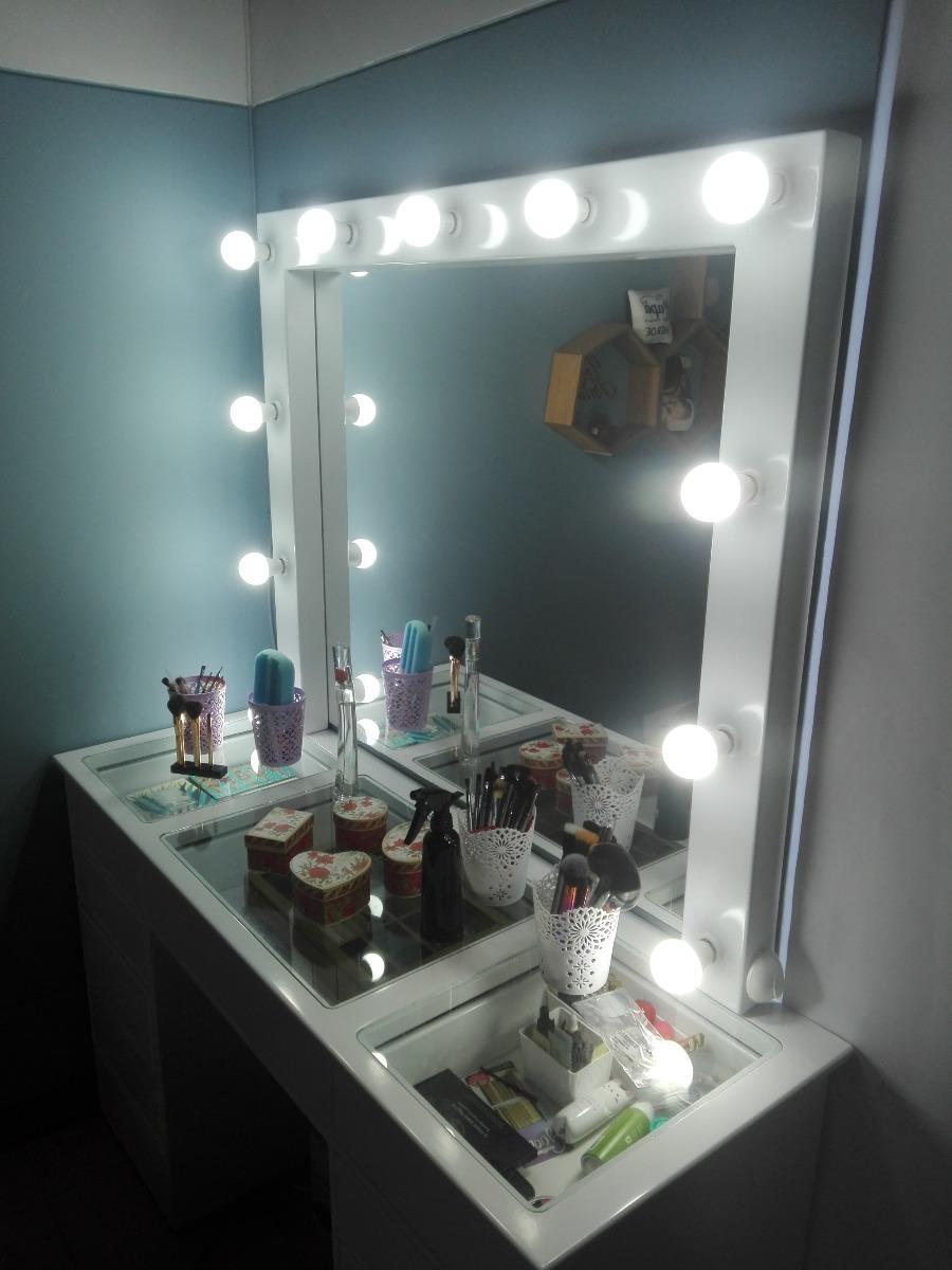 Mueble para maquillaje profesional espejo camerino 2 - Espejo camerino ikea ...