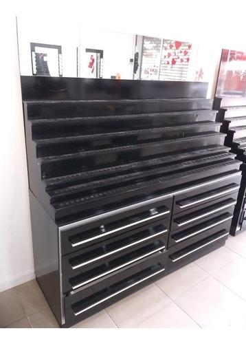 mueble para maquillajes 1.65 x 1.76 x 0.50 c/ portaesmalte