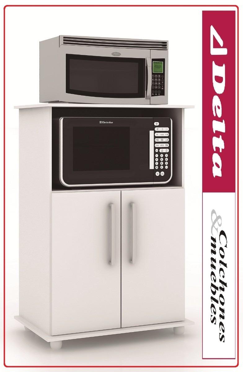 Mueble para microondas alacena kit de cocina equipamiento for Muebles de cocina en kit ikea