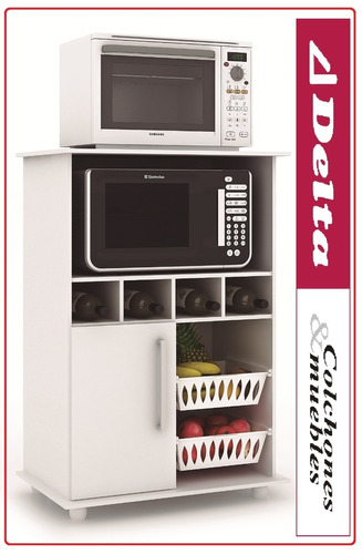 Mueble para microondas frutero alacena kit de cocina for Comprar modulos de cocina en kit