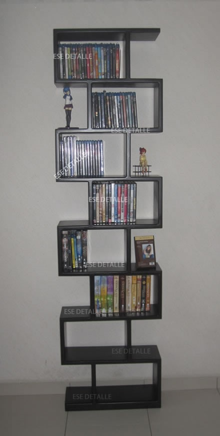 Mueble para pel culas cd s o libros peque os 3 for Muebles para libros modernos