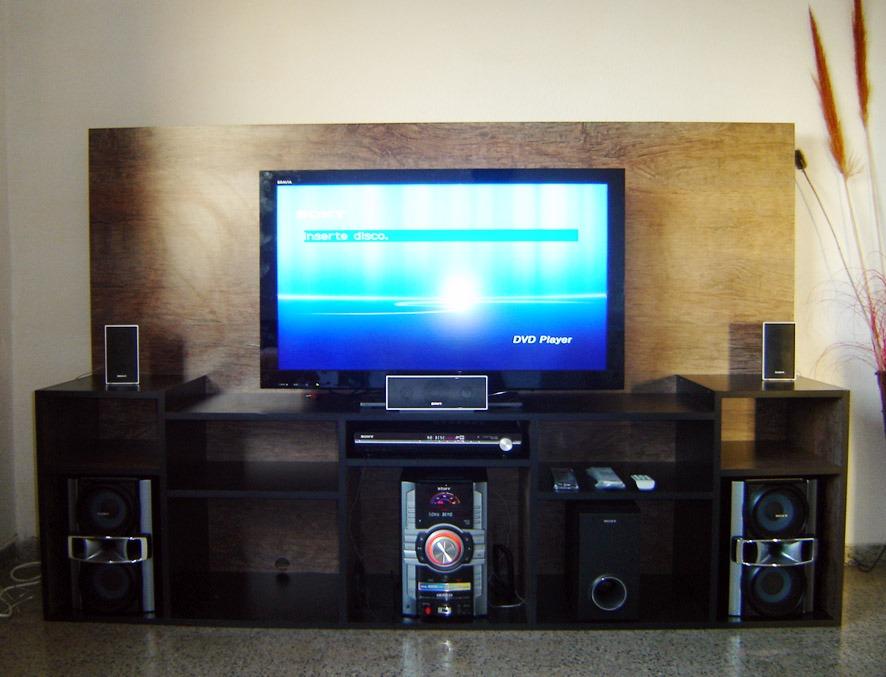 Rack minimalista mueble para tv lcd 32 42 50 modernos - Como hacer un mueble para tv ...