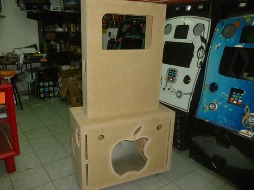 mueble para rockola tipo ipod desmontable  natural