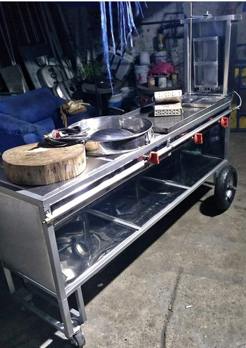 mueble para tacos al pastor