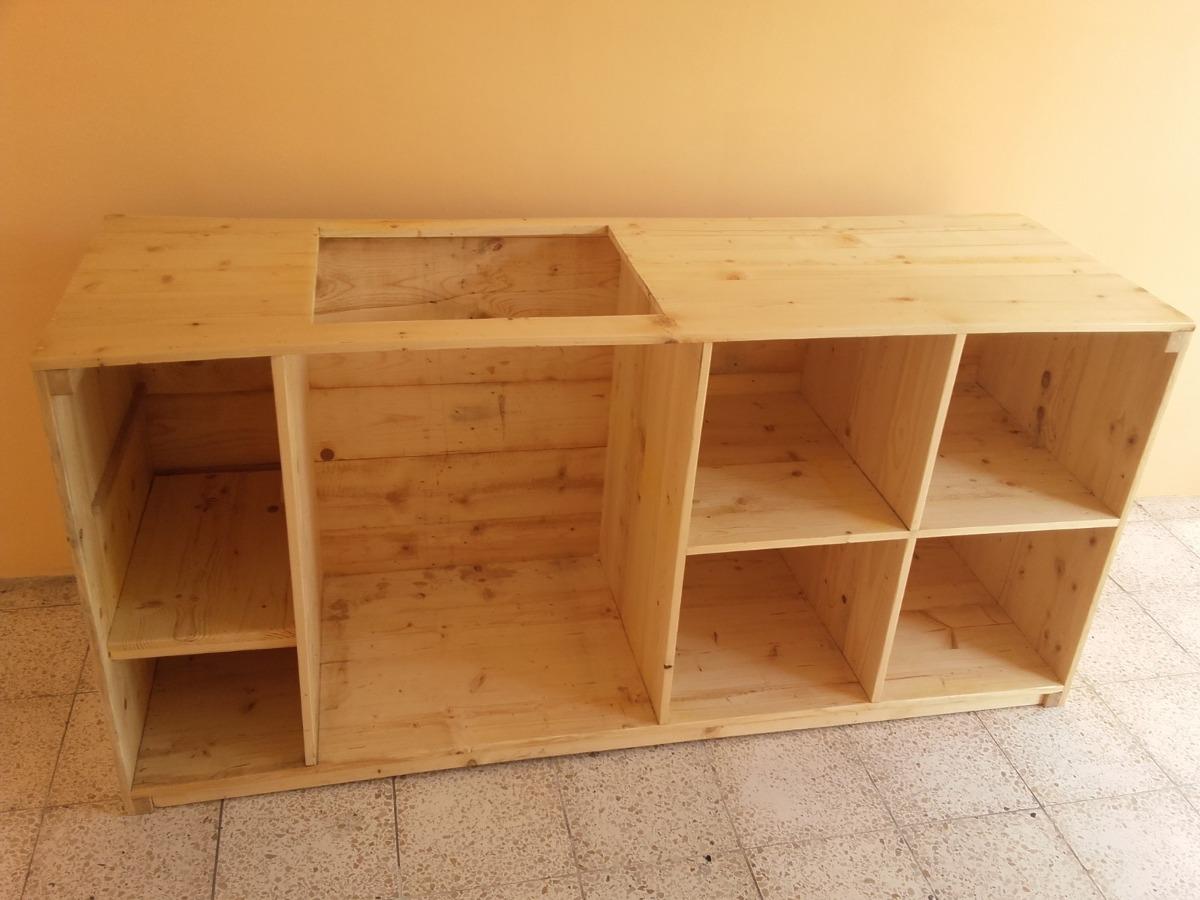 Mueble Para Tope ( Encimera) De Cocina En Pino - U$S 130,00 en ...
