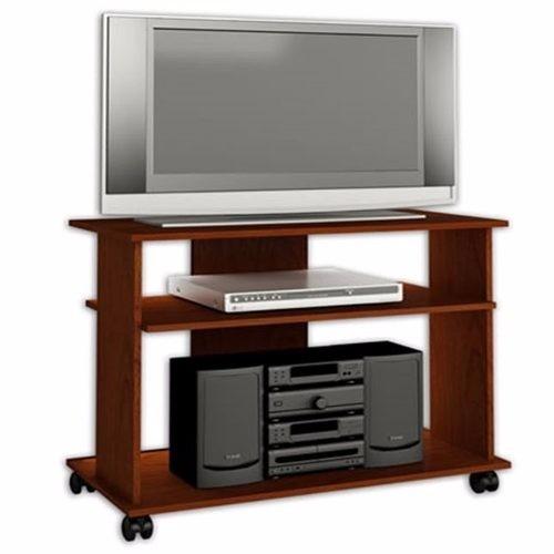 Mueble para tv 32 minimalista con ruedas sala cuarto hogar for Mueble auxiliar con ruedas