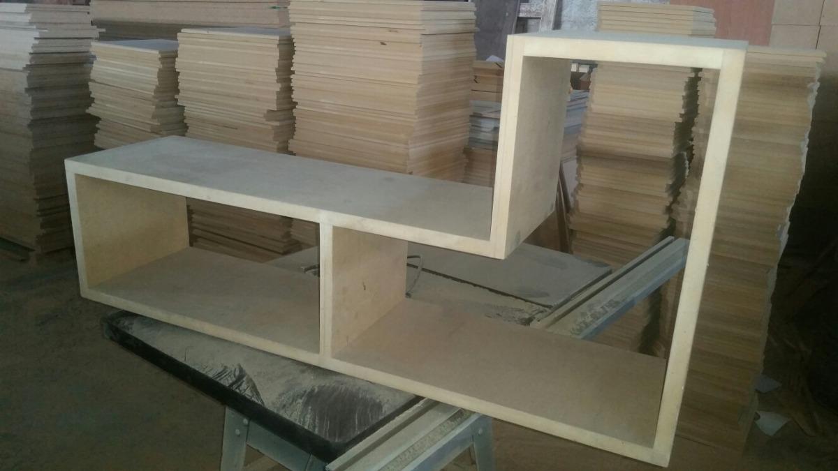 Mueble Para Tv Biblioteca Modular Multifuncional Bs 2 200 00  # Muebles Lijados