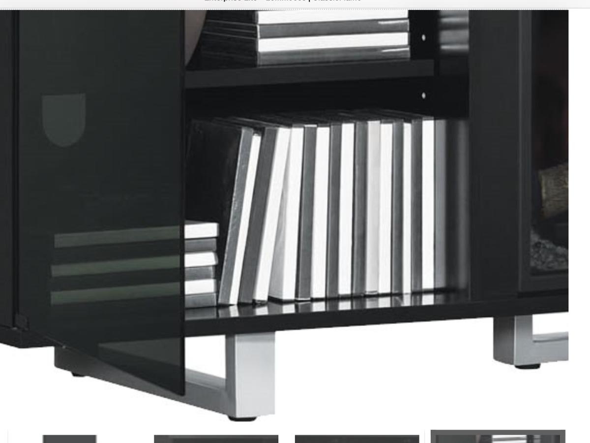Mueble para tv con chimenea el ctrica 7 en - Chimenea electrica mueble ...