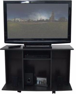 Mueble Para Tv Con Ruedas Nuevo 106 X 70 X 40 Maderkit