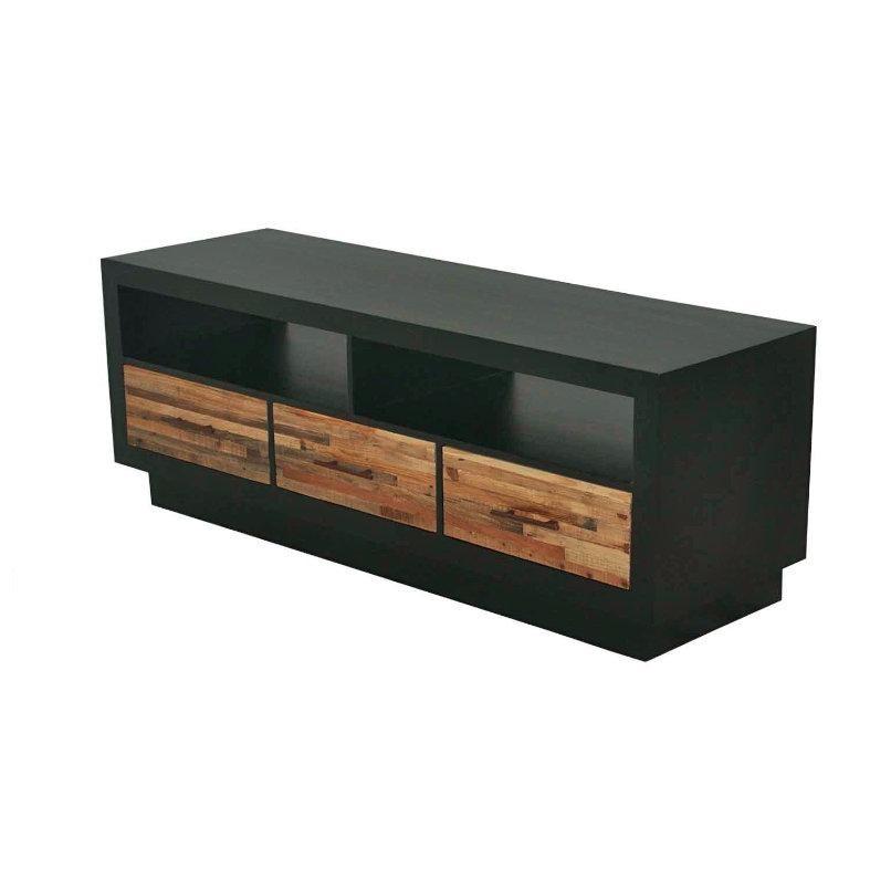 Mueble Para Tv De Madera De Pino Reciclada Rec-007a - $ 9,679.00 en ...
