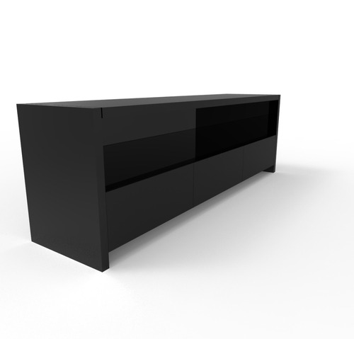 Como hacer un mueble para tv minimalista for Mueble salon minimalista