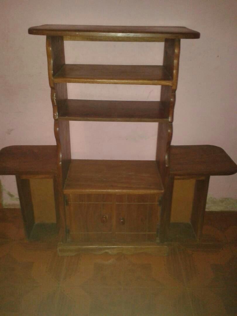Muebles Para Tv Madera Mueble De Madera Maciza Blanca Aplica A  # Muebles Sencillos De Madera
