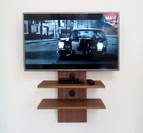 Mueble para tv hasta 42 minimalista moderno play 2 bs for Mueble tv minimalista