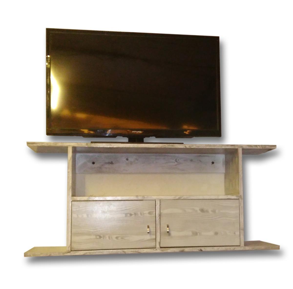 Mueble Para Tv Lcd, Gabinete Flotante, Con Puertas, Centro ...