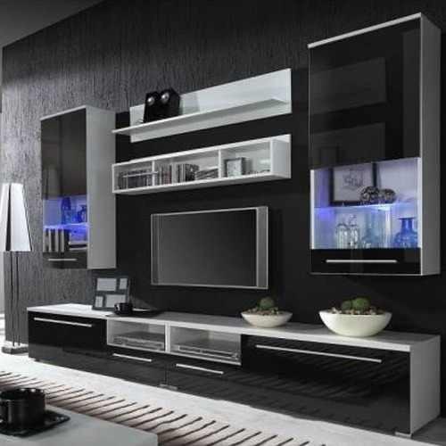 Modelos de modulares de sala en casa - Armario de la tv ...