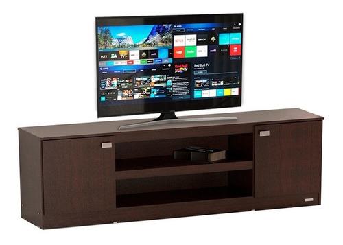 mueble para tv led / lcd rack 128 mosconi melamina vajillero