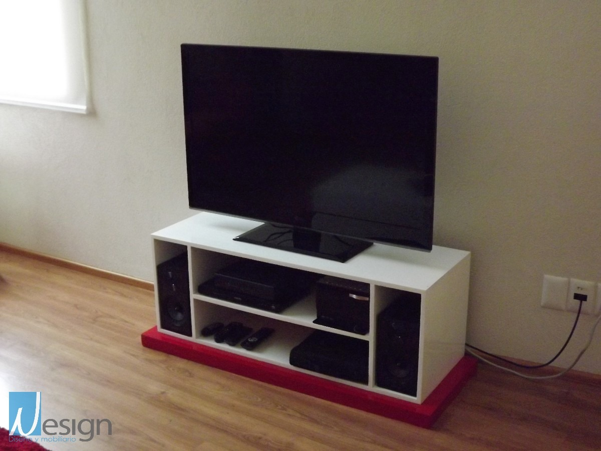Mueble para tv modelo 1 de dise o nesign 4 en for Modelos de muebles para tv
