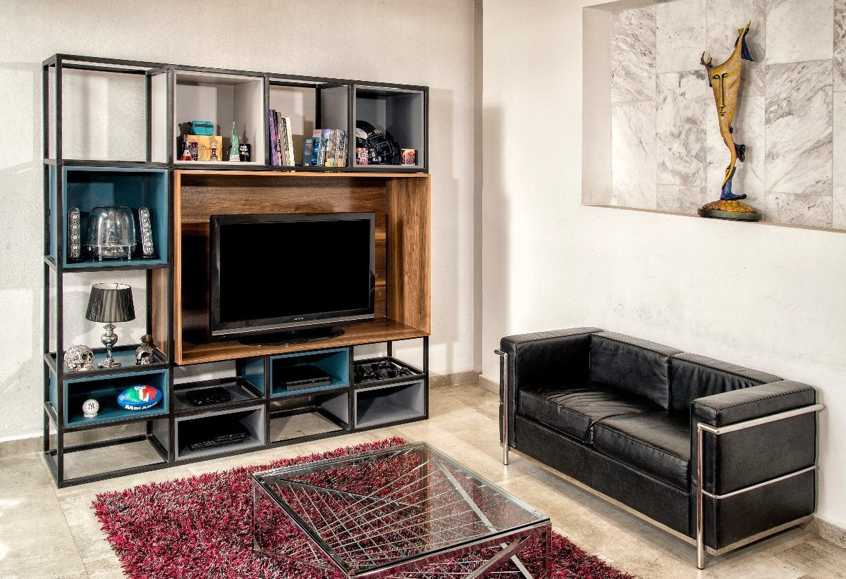 Mueble Para Tv Moderno De Dise O Centro De Entretenimiento  -> Muebles Para Tv Modernos 2017