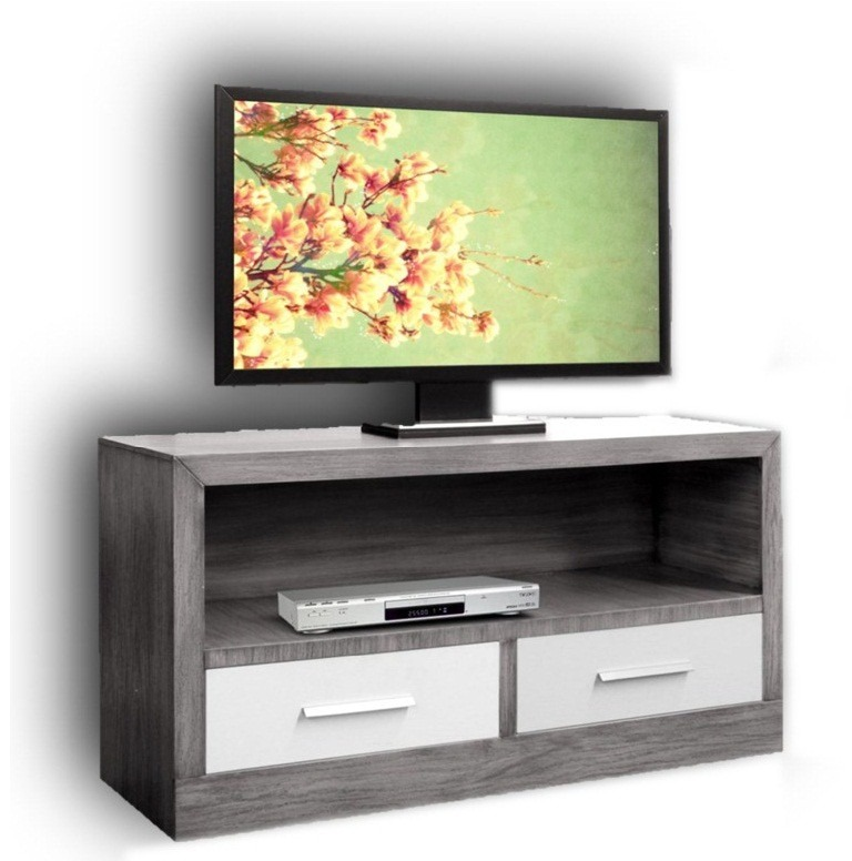 Mueble para tv moderno minimalista para tv de plasma o led for Muebles para el tv