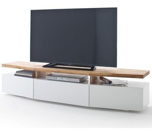 mueble para tv moderno ref: hifi en poliuretano y  madera