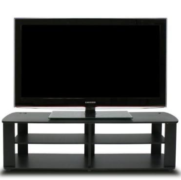 Mueble para tv negro 2 en mercado libre for Mueble tv negro
