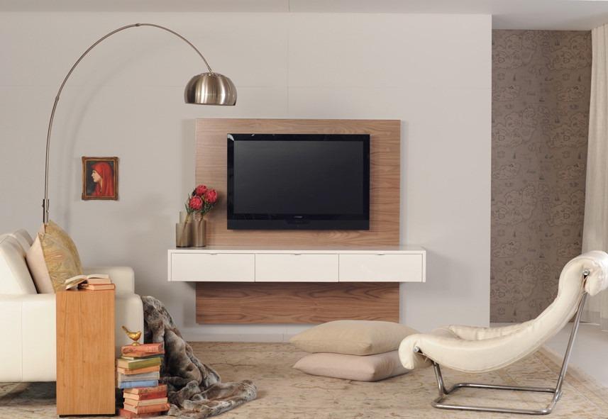 Mueble para tv panel ocultar cables flotantes ref for Mueble ocultar tv