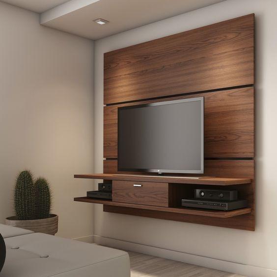 Mueble Tv Pared Decoracin Del Hogar Prosalocom