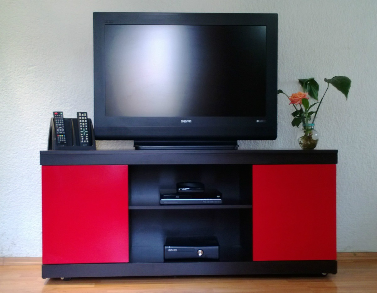 Mueble para tv pantalla 39 saturno 39 2 en for Muebles para tv conforama