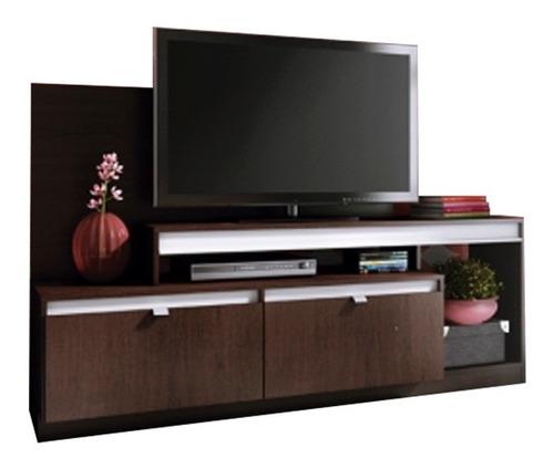 mueble para tv rack ditalia melamina r402
