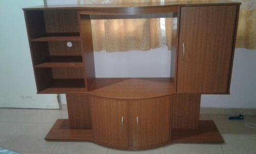 Mueble para tv y equipo de sonido   bs. 145.000,00 en mercado libre