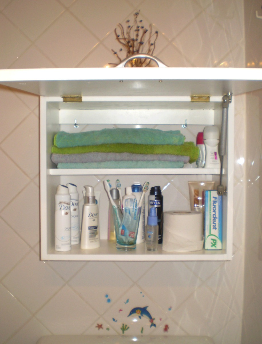 Mueble para vanitory botiquin toallero organizador de ba o 750 00 en mercado libre - Toallero para bano ...
