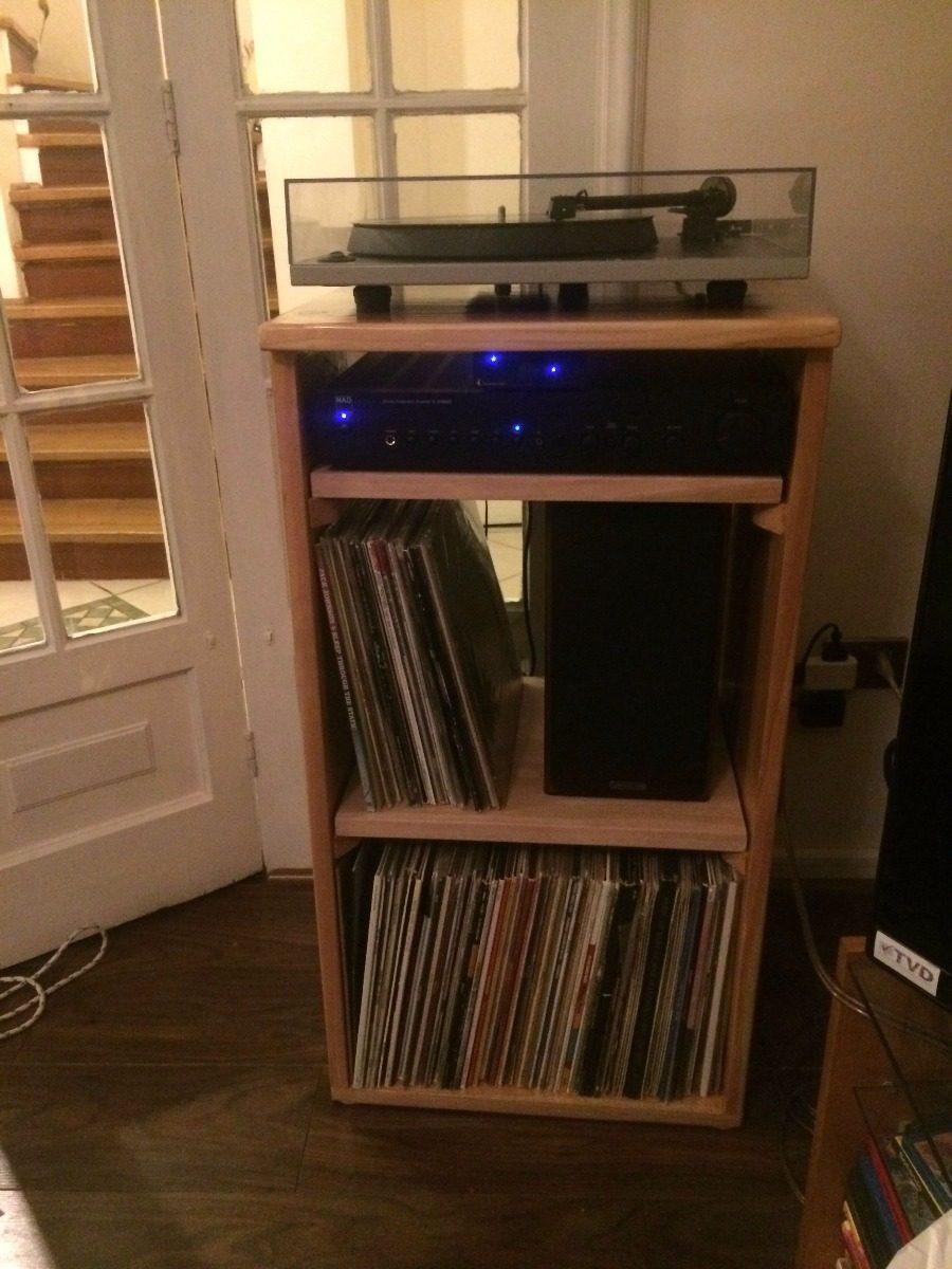 Mueble para toca discos discos de vinilos y cds s 280 00 en mercado libre - Mueble para tocadiscos ikea ...