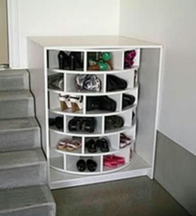 Mueble para zapatos botellas ropa platos giratorio 8 en mercado libre - Muebles para zapatos ...