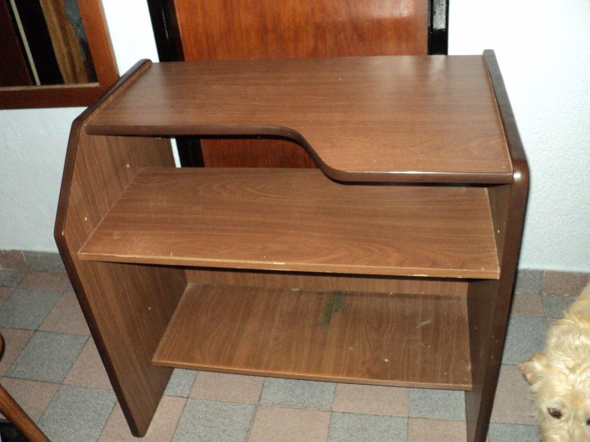 Mueble Pc Excelente Madera Aglomerado Alta Calidad No Mdf 750  # Muebles Wood Haedo