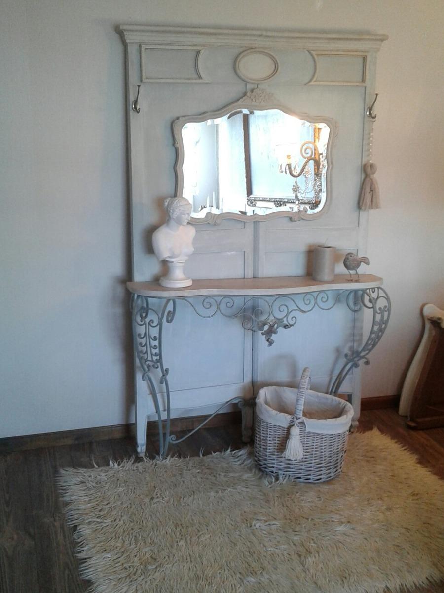 Mueble Perchero Recibidor Frances 33 700 00 En Mercado Libre # Muebles Duquesa