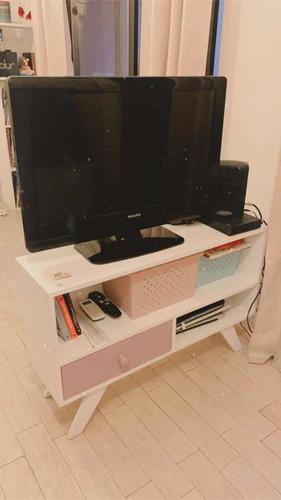 mueble pino nordico blanco