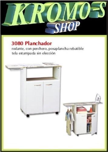 mueble planchador 3080 rod. platinum + envió sin cargo caba