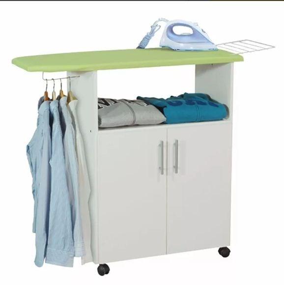 Mueble De Cocina En Sodimac : Mueble planchador en melamine con puertas y ruedas s