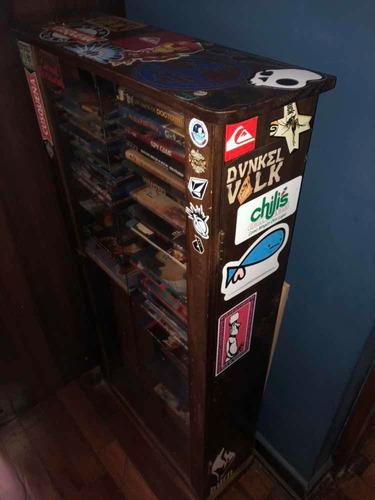 mueble porta dvd películas remato juegos ps3 ps4