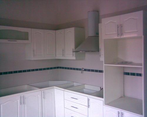 Mueble porta horno y micro laqueado blanco amoblamientos fl ...