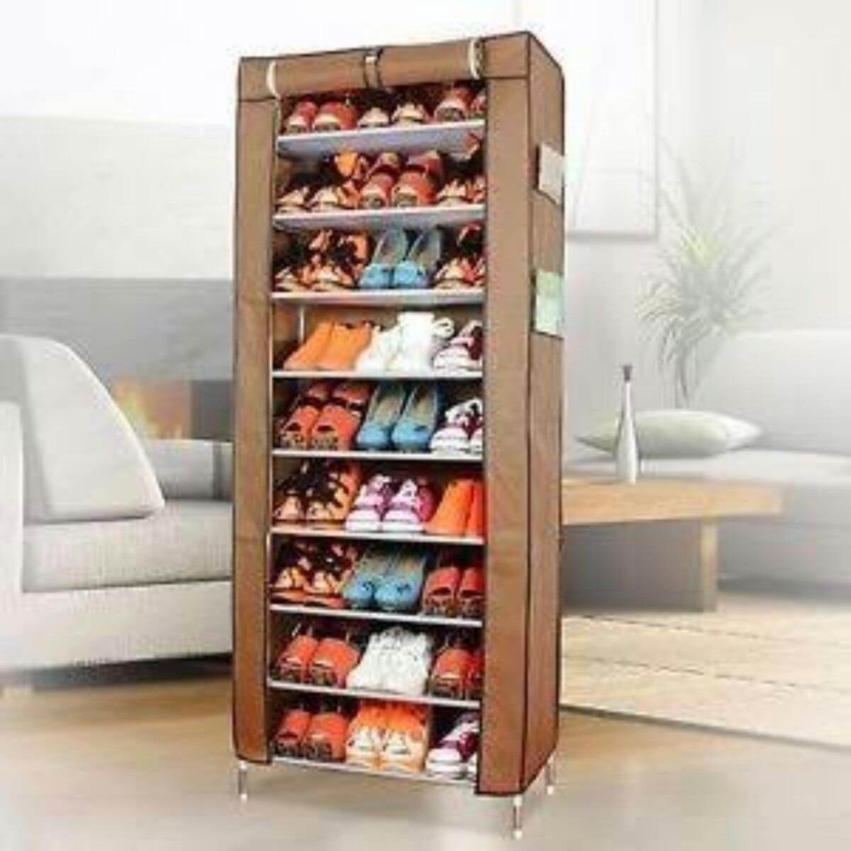 Mueble port til para zapatos armario organizador de tela for Armario para zapatos