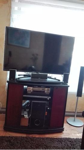 mueble rack de tv madera