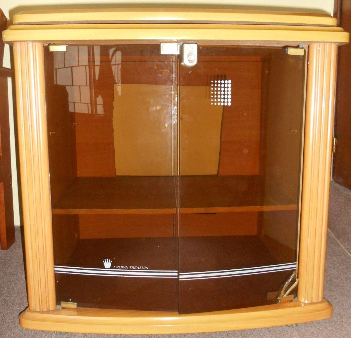 Mueble rack para televisi n equipo de audio canalera o for Mueble para dvd