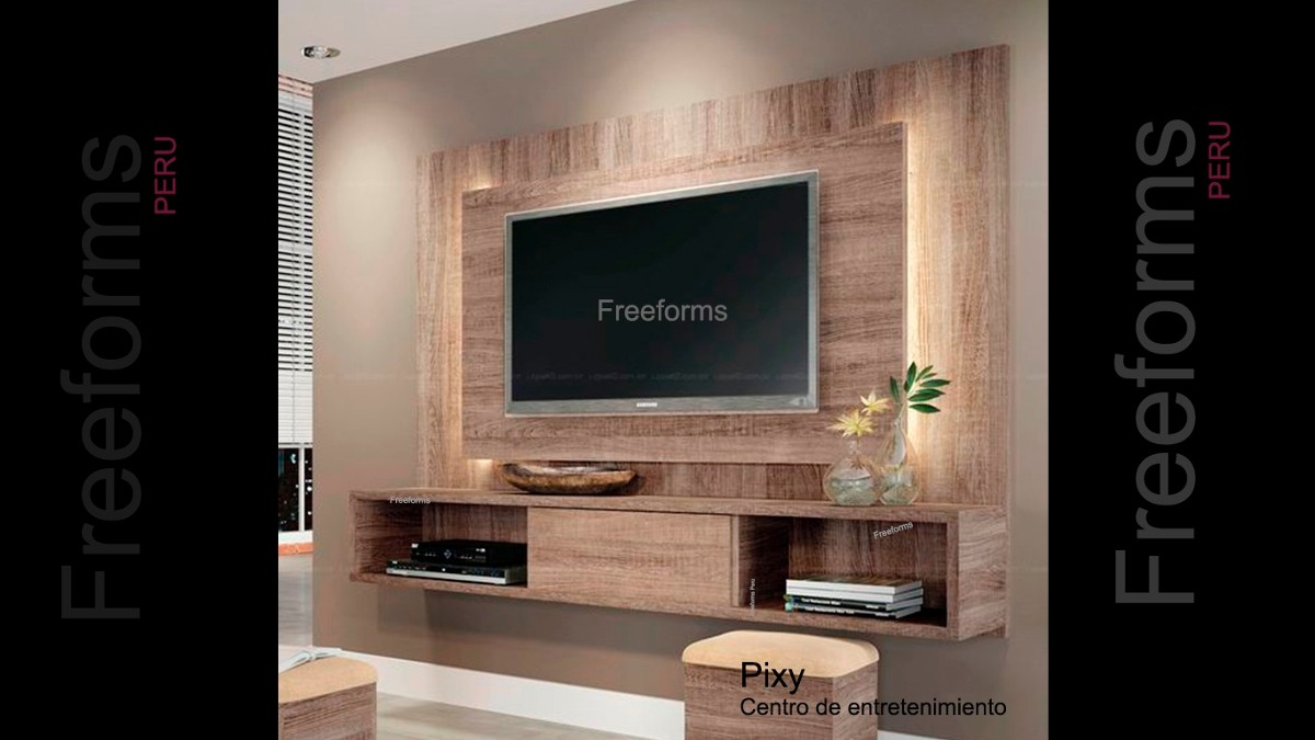 Mueble Rack Para Tv Centro De Entretenimiento Gratis Instala S  # Muebles Rack Para Tv